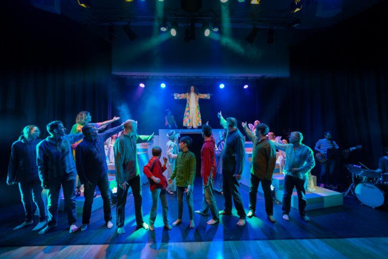 Joseph Dress Rehearsal. Photo by the Bradfordians